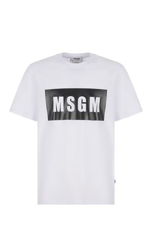 T-shirt MSGM in cotone MSGM | 8 | 3040MM67217098-01